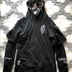 Black Hoodie Hot Topic Gothic Vibes Hoodie